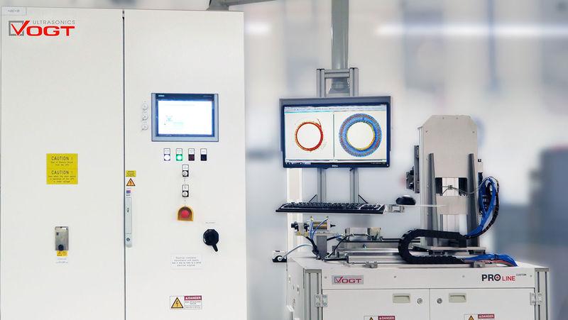 Phased Array Ultraschallprüfsystem